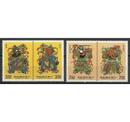 Znaczek Tajwan 1990 Mi 1891-1894 Czyste **
