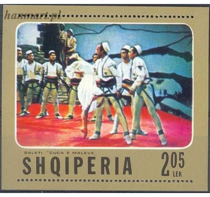 Znaczek Albania 1976 Mi bl 61 Czyste **