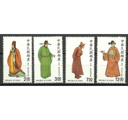 Znaczek Tajwan 1990 Mi 1904-1907 Czyste **