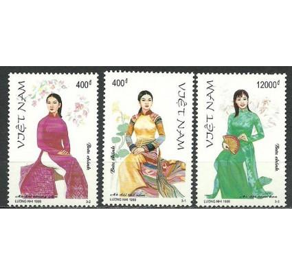 Znaczek Wietnam 1999 Mi 3020-3022 Czyste **