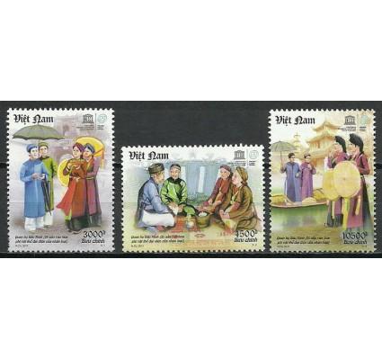 Znaczek Wietnam 2011 Mi 3568-3570 Czyste **