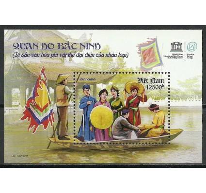 Znaczek Wietnam 2011 Mi bl 156 Czyste **
