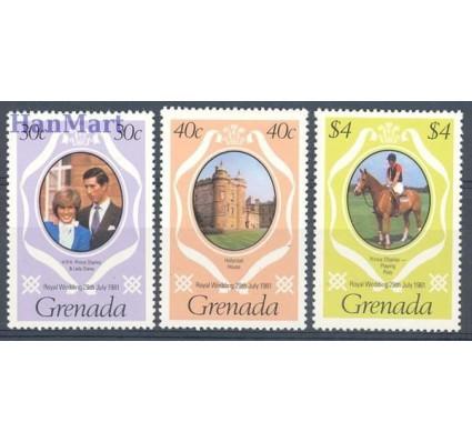 Znaczek Grenada 1981 Mi 1095-1096C+1099C Czyste **