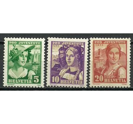 Znaczek Szwajcaria 1933 Mi 266-268 Czyste **
