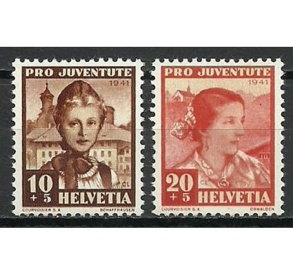 Znaczek Szwajcaria 1941 Mi 400-401 Czyste **
