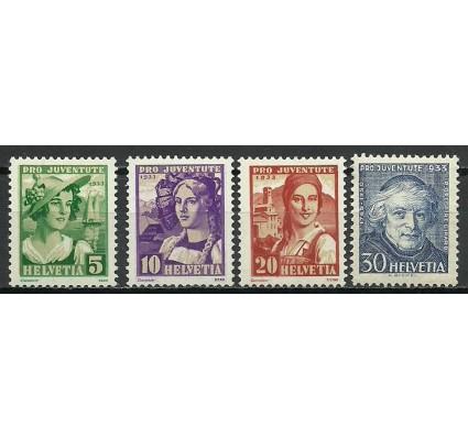 Znaczek Szwajcaria 1933 Mi 266-269 Czyste **