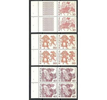 Znaczek Szwajcaria 1979 Mi h-blatt 132-134 Czyste **