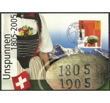 Znaczek Szwajcaria 2005 Mi 1917 Karta Max