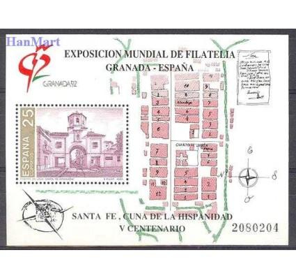 Znaczek Hiszpania 1991 Mi bl 39 Czyste **