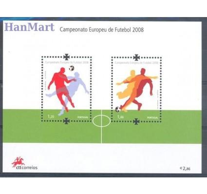 Znaczek Portugalia 2008 Mi bl 268 Czyste **