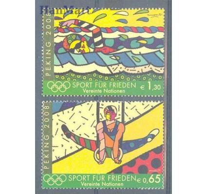 Znaczek Narody Zjednoczone Wiedeń 2008 Mi 545-546 Czyste **