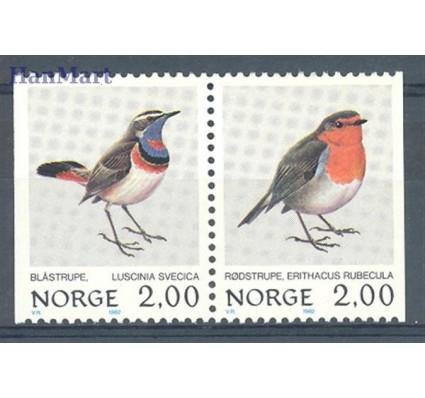 Znaczek Norwegia 1982 Mi 860-861 Czyste **