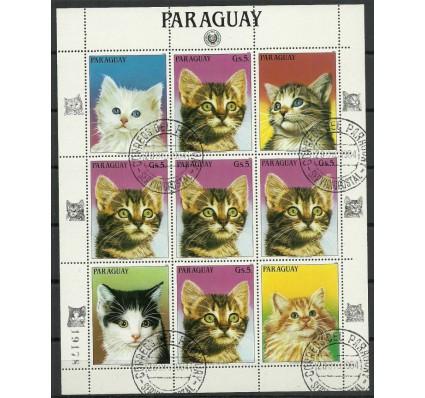 Znaczek Paragwaj 1984 Mi ark 3817 Stemplowane