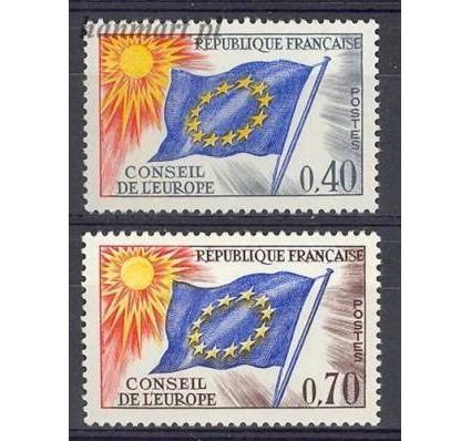 Znaczek Francja 1969 Mi die 13-14 Czyste **