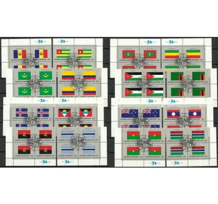 Znaczek Narody Zjednoczone Nowy Jork 1986 Mi 499-514 Stemplowane