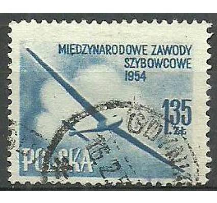 Znaczek Polska 1954 Mi 854aA Fi 714a Stemplowane