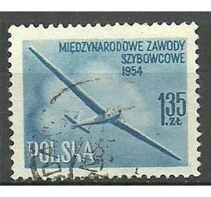 Znaczek Polska 1954 Mi 854b Fi 714b Stemplowane