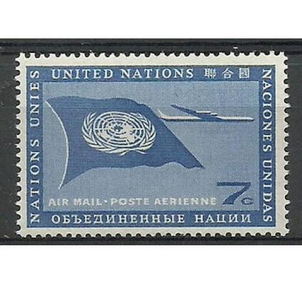 Znaczek Narody Zjednoczone Nowy Jork 1957 Mi 61 Czyste **
