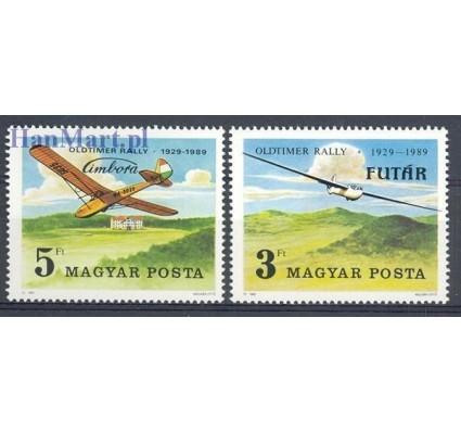 Znaczek Węgry 1989 Mi 4033-4034 Czyste **