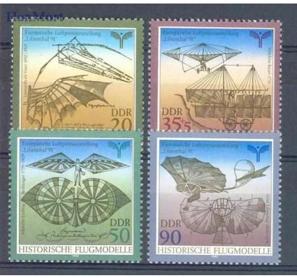 Znaczek NRD / DDR 1990 Mi 3311-3314 Czyste **