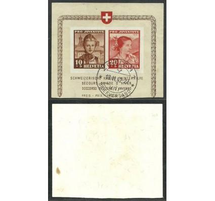 Znaczek Szwajcaria 1941 Mi 403-404 Stemplowane