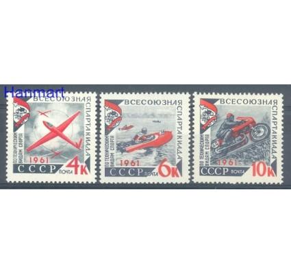 Znaczek ZSRR 1961 Mi 2503-2505 Czyste **