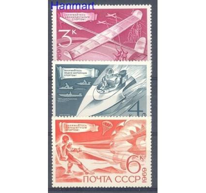 Znaczek ZSRR 1969 Mi 3712-3714 Czyste **