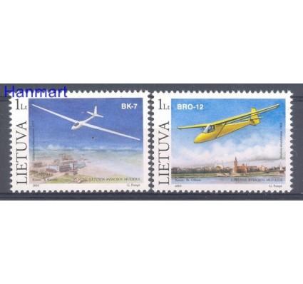Znaczek Litwa 2003 Mi 833-834 Czyste **
