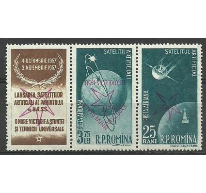 Znaczek Rumunia 1958 Mi 1717+1719b Czyste **