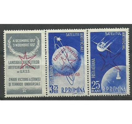 Znaczek Rumunia 1958 Mi 1718+1720a Czyste **