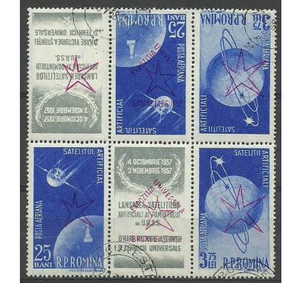 Znaczek Rumunia 1958 Mi 1718+1720b Stemplowane