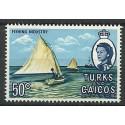Turks i Caicos 1971 Mi 271 Czyste **