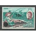 Turks i Caicos 1969 Mi 231x Czyste **