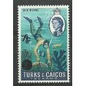 Turks i Caicos 1969 Mi 229x Czyste **