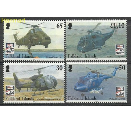 Znaczek Falklandy 2009 Mi 1065-1068 Czyste **