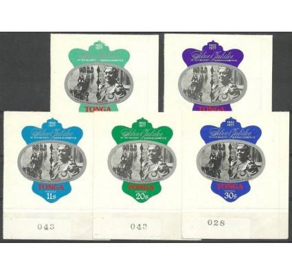 Znaczek Tonga 1977 Mi 599-603 Czyste **
