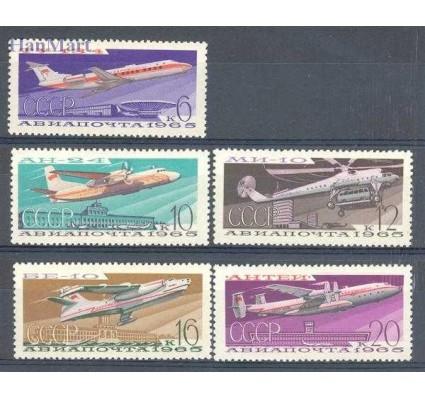 Znaczek ZSRR 1965 Mi 3168-3172 Czyste **