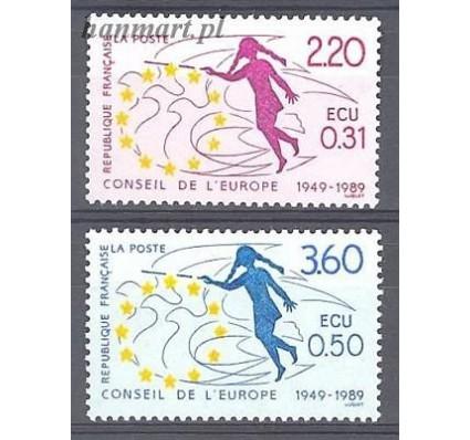 Francja 1989 Mi die 45-46 Czyste **