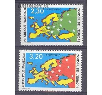 Francja 1990 Mi die 47-48 Czyste **