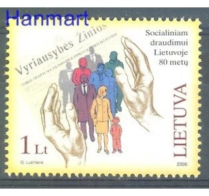 Znaczek Litwa 2006 Mi 899 Czyste **