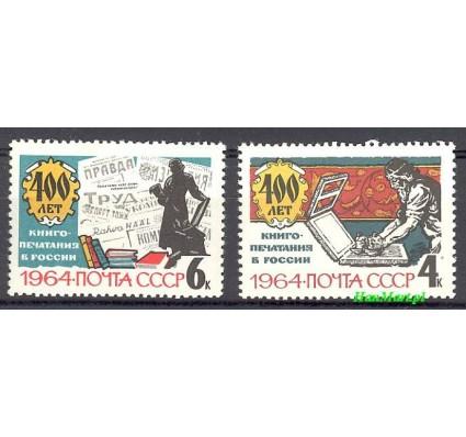 Znaczek ZSRR 1964 Mi 2885-2886 Czyste **