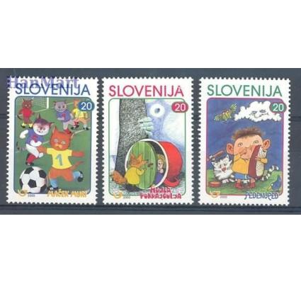 Znaczek Słowenia 2000 Mi 288-290 Czyste **