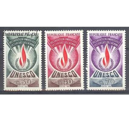 Francja 1969 Mi une 9-11 Czyste **