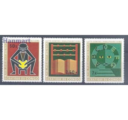 Znaczek Kongo Kinszasa / Zair 1971 Mi 444-446 Czyste **
