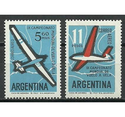 Znaczek Argentyna 1963 Mi 808-809 Czyste **