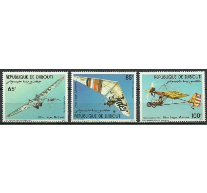 Znaczek Dżibuti 1984 Mi 394-396 Czyste **