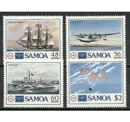 Znaczek Samoa 1986 Mi 595-598 Czyste **