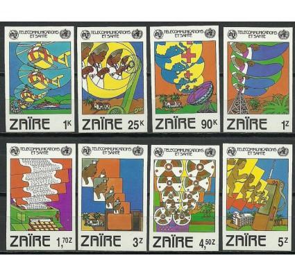 Znaczek Kongo Kinszasa / Zair 1982 Mi 747-754B Czyste **