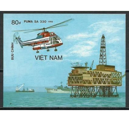 Znaczek Wietnam 1989 Mi bl 68B Czyste **