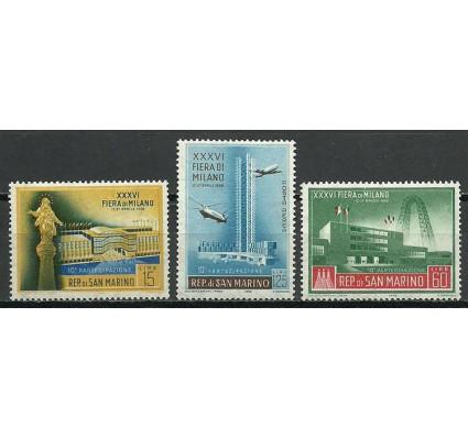 Znaczek San Marino 1958 Mi 587-589 Czyste **